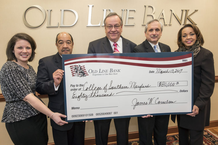 Old Line Bank Donation
