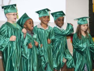 Preshool graduation photo