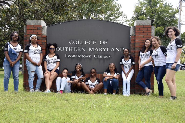 Students at Leonardtown