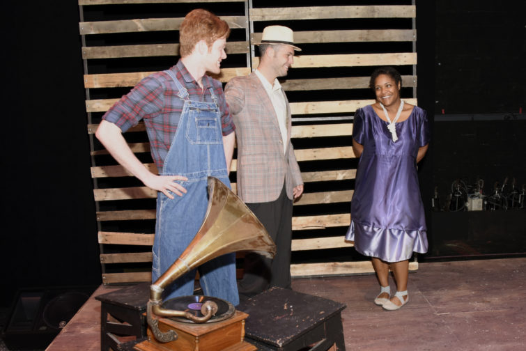 Voice of the Prairie production