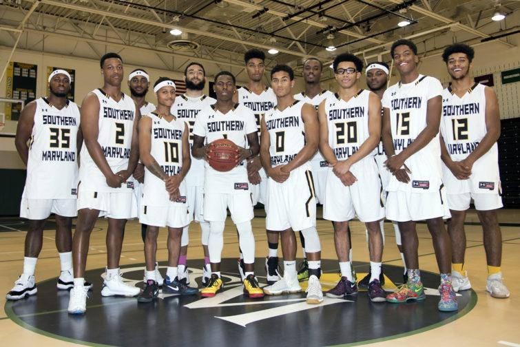 CSM Men's Basketball Team for 2017-18 season.