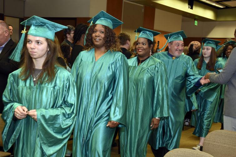 Adult GED graduates