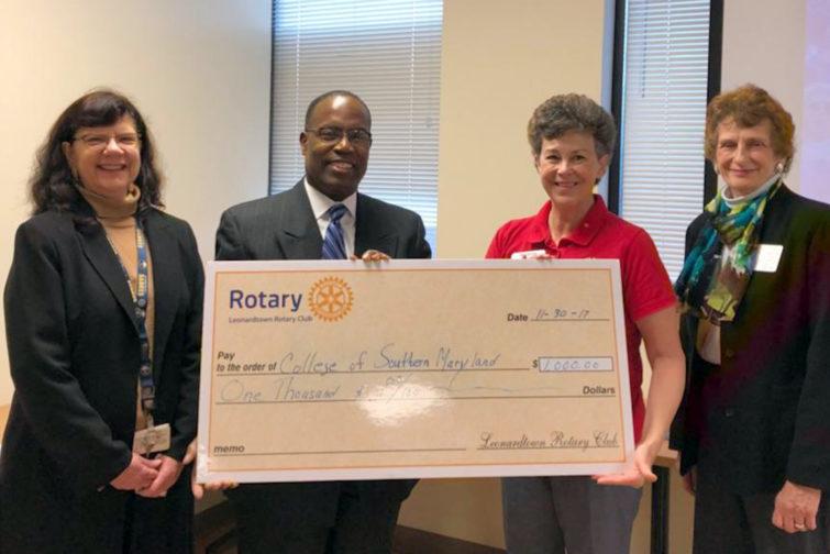 Leonardtown Rotary Donation