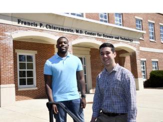 Kevin Jackson, 22, of Lusby, left, and Noah Schaeffer, 20, of Dentsville