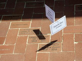 Brick dedication